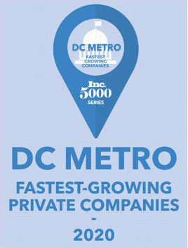 DC METRO fastest growing companies, Inc. 5000 series - 2020
